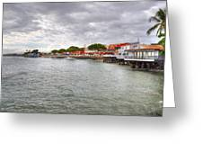 Lahaina Postcard Greeting Card by Kelly Wade
