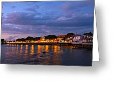 Lahaina Roadstead Greeting Card by James Roemmling