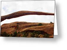 Landscape Arch 1 Greeting Card by Marty Koch