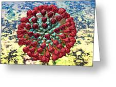 Lassa Virus Greeting Card by Russell Kightley