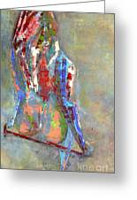 Last Dance Greeting Card by Johnny Johnston