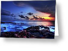 Last Light Greeting Card by Chad Dutson