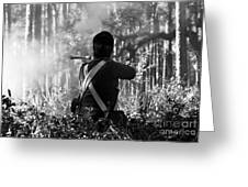 Last Man Standing Greeting Card by David Lee Thompson