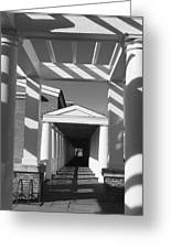 Lattice And Shadows Greeting Card by Steven Ainsworth