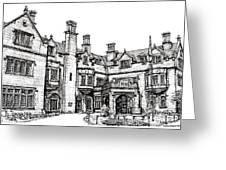 Laurel Hall In Indianapolis Greeting Card by Lee-Ann Adendorff