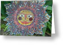 Le Soleil Greeting Card by Kimberly Barrow