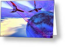 Leading Edge Greeting Card by Corey Ford
