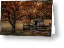 Legend Of The Fall Greeting Card by Robin-lee Vieira