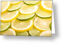 Lemons And Limes Greeting Card by James BO  Insogna