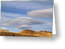 Lenticular Landing Greeting Card by Donna Kennedy