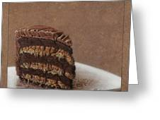 Let us eat cake Greeting Card by James W Johnson