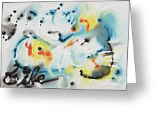 Life Greeting Card by Nadine Rippelmeyer