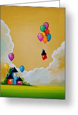 Life Of The Party Greeting Card by Cindy Thornton