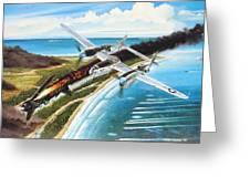 Lightning Over Mindoro Greeting Card by Marc Stewart