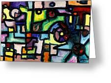 Like Clockwork Greeting Card by Regina Valluzzi
