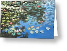 Lilies Greeting Card by Paul Walsh