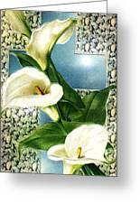 Lily Greeting Card by Kenneth Lambert