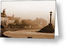 Linby Village Greeting Card by Graham Taylor