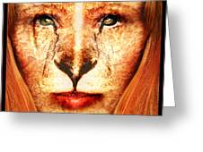 Lioness Greeting Card by Robert  Adelman