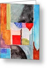 Little Abstract Greeting Card by Jamie Frier