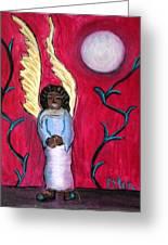 Little Angel Greeting Card by Pilar  Martinez-Byrne