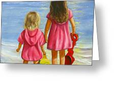 Little Beachcombers Greeting Card by Joni McPherson