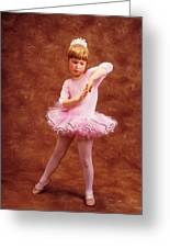 Little Dancer Greeting Card by Garry Gay