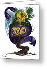 Little Tree 100 Greeting Card by Sean Seal