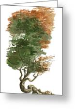Little Tree 15 Greeting Card by Sean Seal
