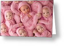 Living Doll Greeting Card by Anne Geddes