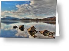 Loch Lomond Greeting Card by Fiona Messenger