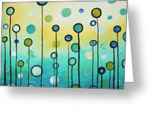 Lollipop Field By Madart Greeting Card by Megan Duncanson