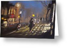 London Fog 2 Greeting Card by Paul Mitchell