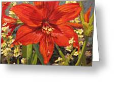 Lone Beauty Greeting Card by L Diane Johnson