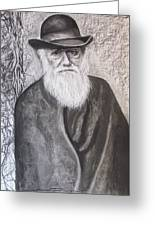 Lonely Occupation - C. Darwin Greeting Card by Eric Dee