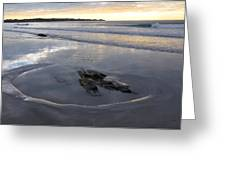 Longsands Rock 2 Greeting Card by Catherine Easton