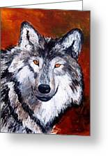 Look Into My Eyes Greeting Card by Tami Booher