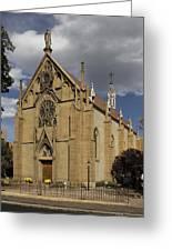 Loretto Chapel - Santa Fe Greeting Card by Mike McGlothlen