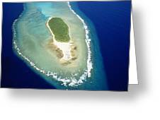 Losiep Atoll Greeting Card by Mitch Warner - Printscapes