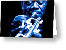 Louis Armstrong Greeting Card by DB Artist