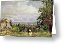 Louveciennes Greeting Card by Camille Pissarro