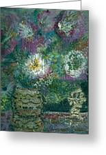 Love And A Daisy  Greeting Card by Anne-Elizabeth Whiteway