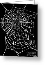Love Is A Tangled Web Greeting Card by Keith QbNyc