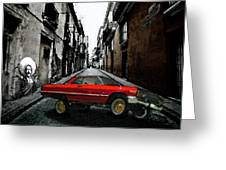 Low Rider Greeting Card by Monday Beam