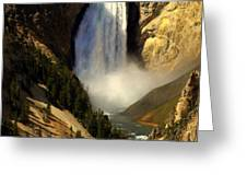 Lower Falls 2 Greeting Card by Marty Koch