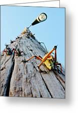 Lubber's Pole Greeting Card by Lynda Dawson-Youngclaus