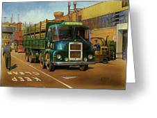 Lucas Scammell Routeman I Greeting Card by Mike  Jeffries