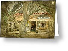 Luckenbach Aged Greeting Card by Scott Norris