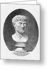 Lucretius (96 B.c.?-55 B.c.) Greeting Card by Granger