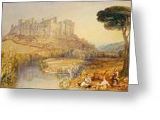 Ludlow Castle  Greeting Card by Joseph Mallord William Turner